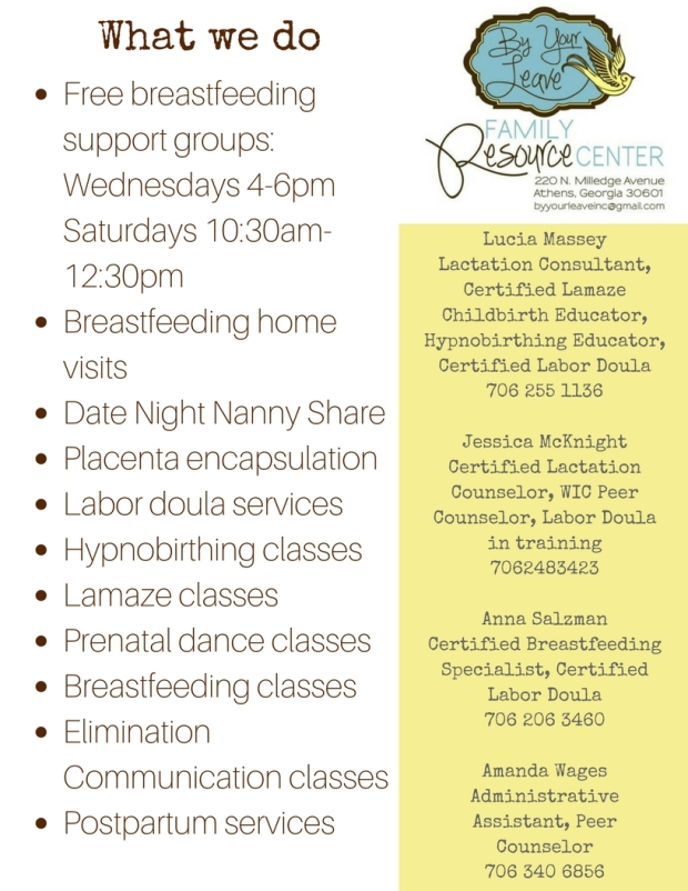Breastfeeding Group Flyer (2)